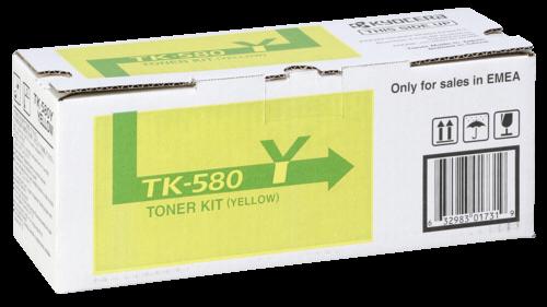 Kyocera Toner TK-580 Y yellow