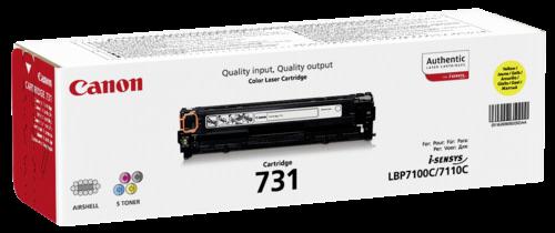 Canon Toner Cartridge 731 Y