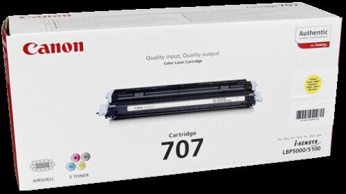 Canon Toner Cartridge 707 Y
