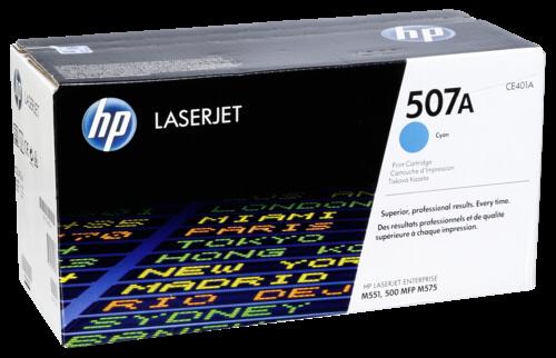 HP Toner CE 401 A cyan