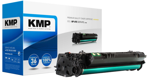 KMP H-T80 Toner schwarz XXL