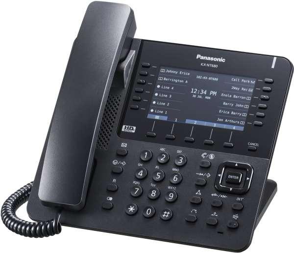 KX-NT680NE-B IP Systemendgerät, schwarz