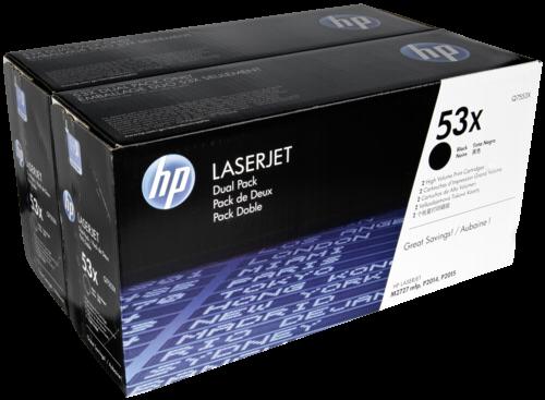 HP Toner Q 7553 XD Doppelpack