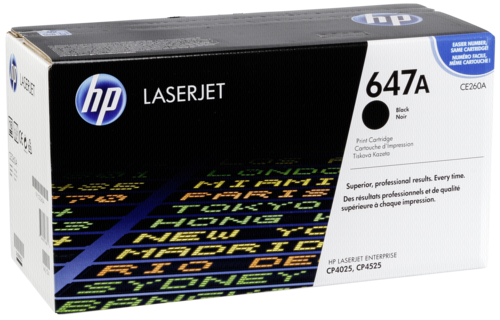 HP Toner CE 260 A schwarz