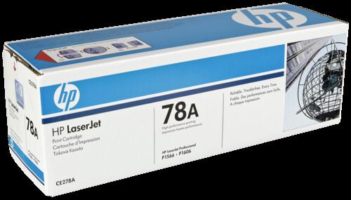 HP Toner CE 278 A schwarz