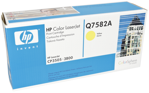 HP Toner Q 7582 A yellow