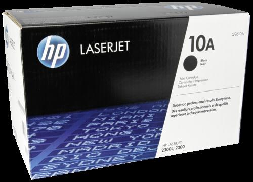 HP Toner Q 2610 A schwarz