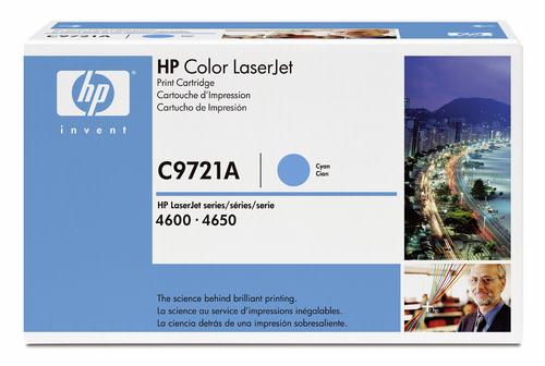 HP Toner C 9721 A cyan