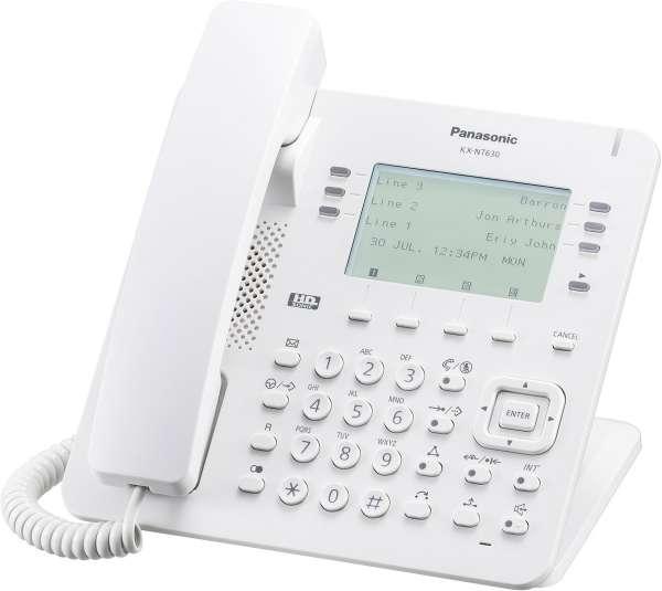 KX-NT630NE IP Systemendgerät, weiss