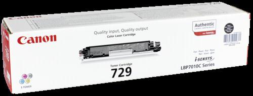 Canon Toner Cartridge 729 BK