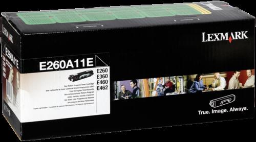 Lexmark Toner E260A11E schwarz