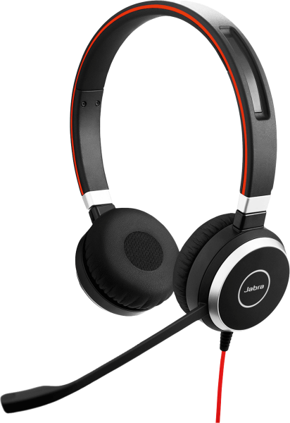 JABRA Evolve 40 MS binaural -Duo- USB-C