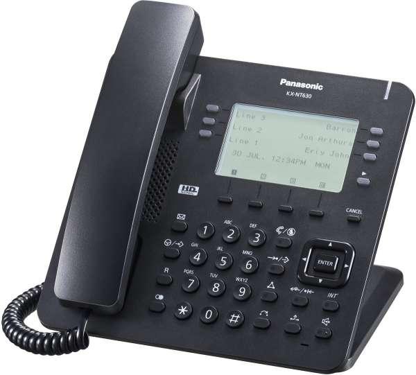 KX-NT630NE-B IP Systemendgerät, schwarz