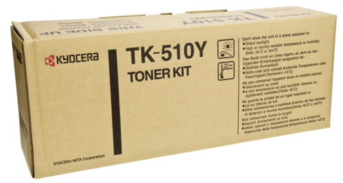 Kyocera Toner TK-510 Y yellow