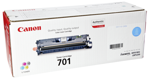 Canon Toner Cartridge 701 C cyan