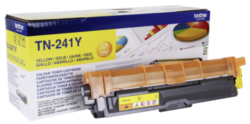 Brother TN-241 Y Toner yellow