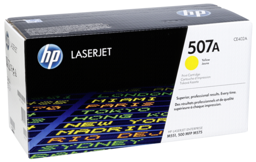HP Toner CE 402 A yellow