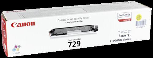 Canon Toner Cartridge 729 Y